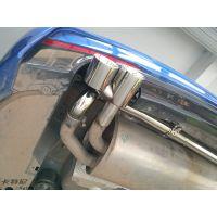 成都18款宝马320改装双边双出排气管