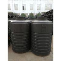 农村生活污水人工湿地模块化处理技术 综合利用PE蓄水桶 塑料化粪池