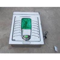 电动打包蹲便器不锈钢便器机械大便器免冲座便打包式马桶厂家