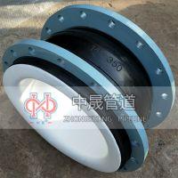 供应品牌KXT型四氟可曲挠橡胶接头 PTFE柔性连接软接头 生产厂家
