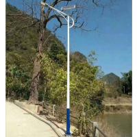 承运BY-0002吉林农村太阳能路灯6米50W一事一议专用LED户外照明一体化路灯