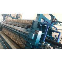 四川达州洗砂泥浆水处理设备 板框压滤机 沃利克厂家生产
