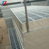 厂家直销热镀锌钢格板q235沟盖板平台踏步板255/40/100热镀锌钢格板