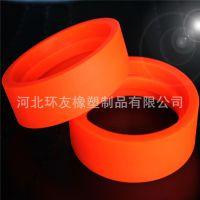 厂家生产供应聚氨酯橡胶槽轮 PU轮聚氨酯橡胶产品  V型胶轮带轮