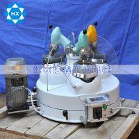 浩鑫直销玛瑙三头研磨机 实验室三头研磨机 三头行星研磨机价格