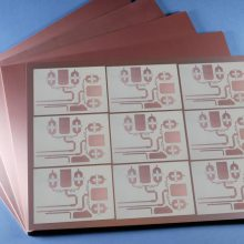 ROGERS聚四氟乙烯PTFE/F4BM高频板材PCB电路板定制