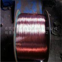 厦门紫铜线 T2半硬红铜线 导电紫铜丝