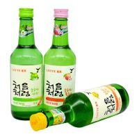 韩国进口 初饮初乐苹果味配制酒360ml 三种口味可选 烧酒批发