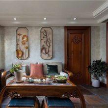 长沙原木美式家具优惠、原木柜体、护墙板定做木质整装