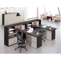 供应单人位|双人位|四人位员工办公桌 南京办公桌椅厂家