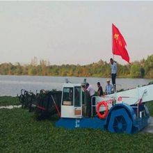 烟台景区清理水草设备 山东生产割草船的厂家 水面垃圾自动打捞工程船