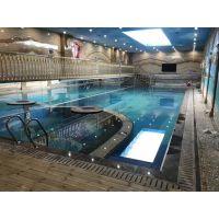 游泳馆加热设备安装