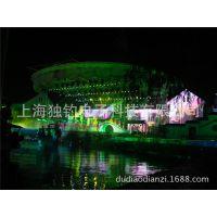 专营户外墙面LOGO造型投影灯 地面投影广告灯--上海独钓电子科技