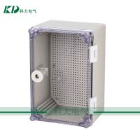 30*20*16cm透明防水电箱 PC塑料透明箱 IP65PVC塑料防水配电箱