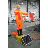 保通机器人 太阳能仿真指挥员 智能交通指导员交通施工安全员假人 广东道路交通机器人指挥员