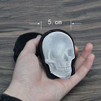 现货大骷髅冰模 硅胶单孔骷髅头冰格 创意恐怖大冰格冰块模具