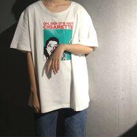 外贸夏韩国chic风卡通学生宽松短袖T恤女装全店9.9包邮一件代发