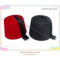 土耳其黑色流苏酒红羊毛帽Turkish Band Cap 土耳其乐队帽Turkish Cap