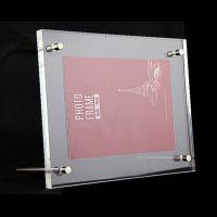厂家供应亚克力桌面相框证书展示框产品展示说明标识框工厂直销