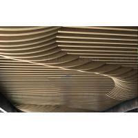 福建艺术吊顶弧形铝方通定制