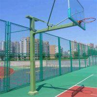 球场围网生产厂家 编织勾花网 足球场围栏