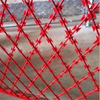 河北刀刺护栏网厂家刺绳焊接网刀片钢丝网