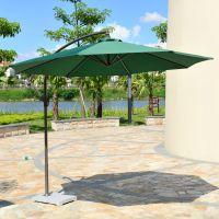 包邮热销香蕉伞圆形大太阳伞露台庭院花园遮阳伞防紫外线沙滩伞