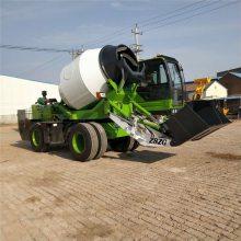 水泥搅拌车盖房子用水泥搅拌运输车中首重工