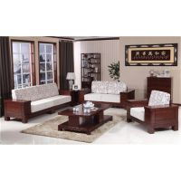 供应木言木语665-3#环保纯实木沙发家具 品质有保障