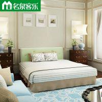 CXM14床箱 CTRM14-1简约现代双人床高密度纤维板大连板式家具工厂直销