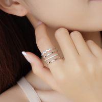 厂家直销日韩版配饰多层开口戒指简约气质百搭食指女饰品潮人个性