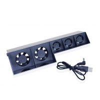 热卖直销 PS4 主机风扇USB散热器 游戏机智能温控涡轮风扇
