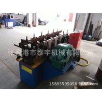 7/9轮自动槽钢卷法兰设备 一次成型加工速度快多种型材盘圆拉弯机