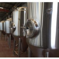 浆原啤酒发酵设备||珠江/百威啤酒发酵罐【方联不锈钢储酒罐】厂家