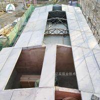 楼房屋顶的建筑材料选择亿实钢骨架轻体防火屋面板彩钢替代材料