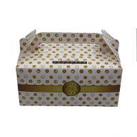 手提纸盒生日蛋糕盒烘焙食品包装盒彩印水果特产礼品手提盒定做