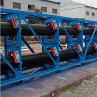 昆山管式带状输送机 输送各种粉状物料固定型