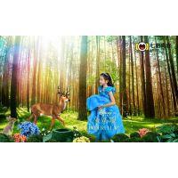 专业中国风儿童古装摄影写真加盟