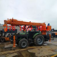 拖拉机改装四驱越野吊 拖拉机吊车电线杆挖坑立杆一体机