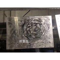 """雕花""""玫瑰""""铝单板_红色玫瑰花墙面铝板_开创新款"""