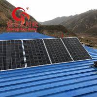 甘肃白银 兰州家用1000w 2000w 3000w太阳能发电机 太阳能光伏发电设备
