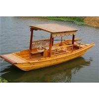 南京木船厂家出售仿古乌篷船单篷船嘉兴摇橹船