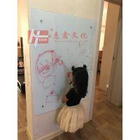 深圳挂式磁性钢化玻璃白板3