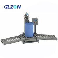 食用油全自动压盖灌装机上海广志自动化常压罐装