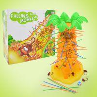 大号趣味益智玩具翻斗猴子亲子互动桌面游戏猴子往下掉