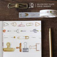 信的恋人 金制助手系列胶带 手帐胶带相册日记DIY装饰贴纸 4款