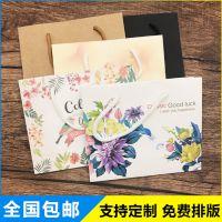厂家直销 礼品外卖打包纸袋支持定制