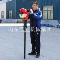 15米土壤勘探钻机QTZ-2便携式取土钻机