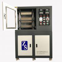 实验型PVC硫化机厂家 小型PET母料双层热压成型机 塑料TPU小型平板硫化