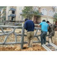 今日新鲜事仿木栏杆效果图,仿木纹混凝土护栏立柱怎么安装?